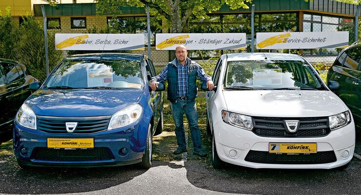 Dacia, Gebrauchtwagen