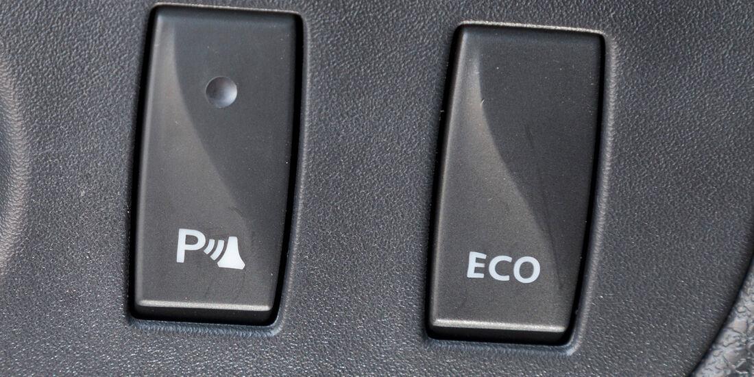 Dacia Logan MCV TCe 90, Bedienelemente