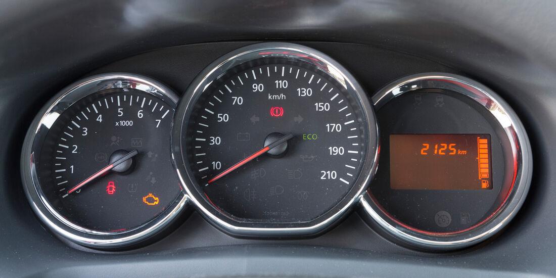 Dacia Logan MCV TCe 90, Rundinstrument