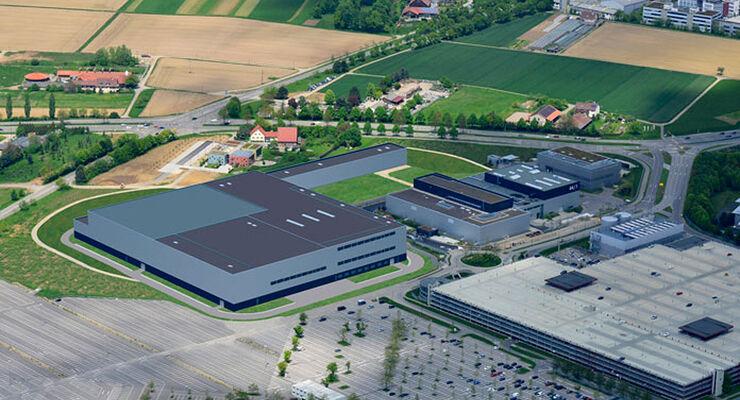 Daimler Technologiezentrum Fahrzeugsicherheit