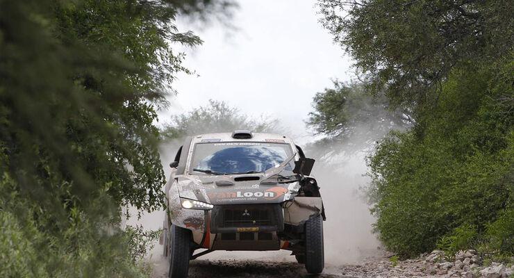 Dakar 2011 - Mitsubishi