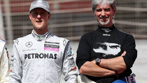 Damon Hill Michael Schumacher