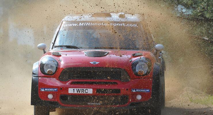 Dani Sordo Mini WRC Rallye Sardinien 2011