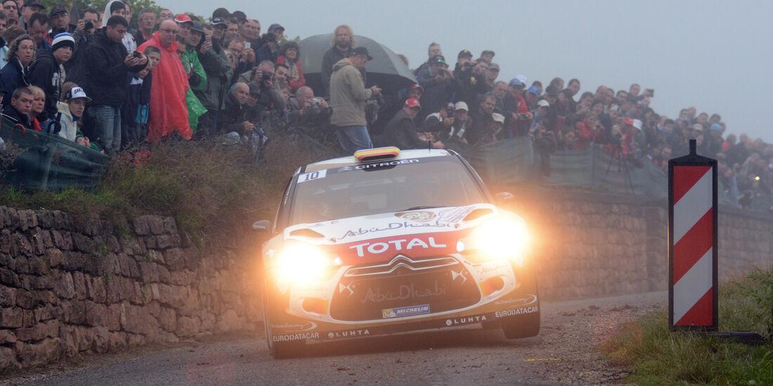 Dani Sordo - Rallye Frankreich 2013
