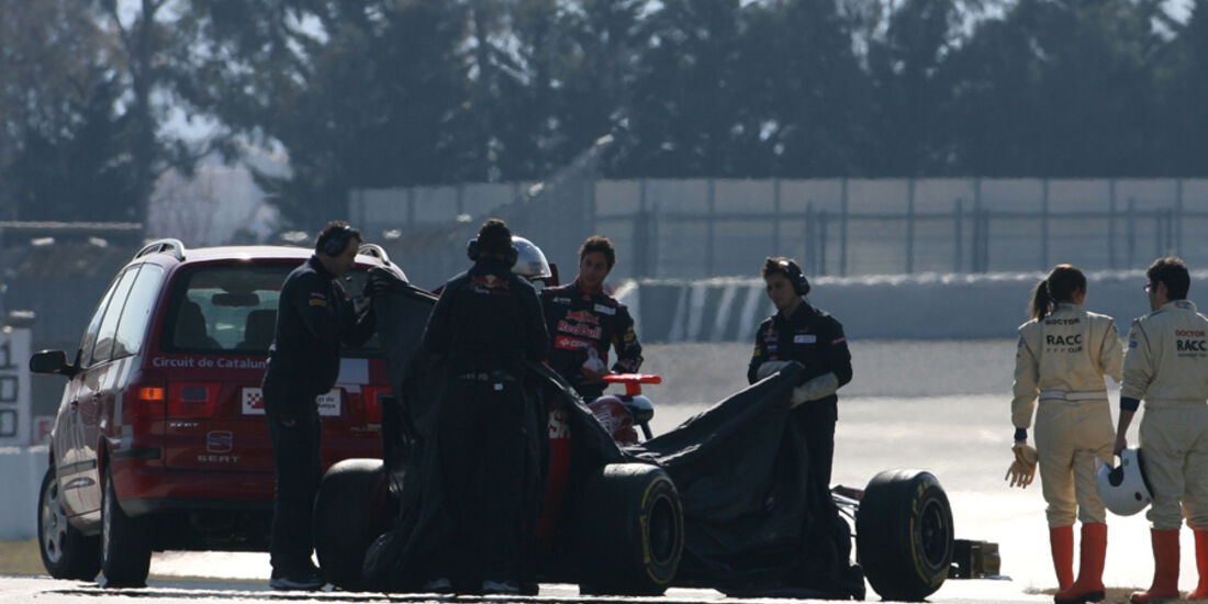 Daniel Ricciardo Barcelona F1-Test 2012
