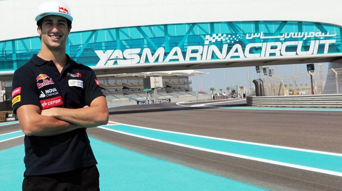 Daniel Ricciardo - Formel 1 - GP Abu Dhabi - 01. November 2012