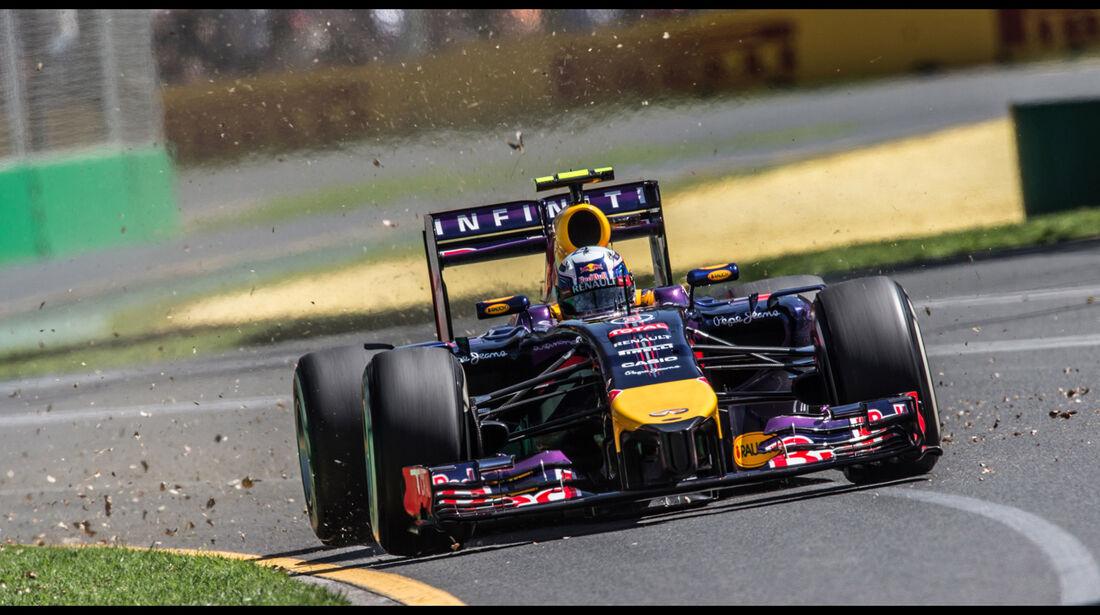Daniel Ricciardo - Formel 1 - GP Australien 2014 - Danis Bilderkiste
