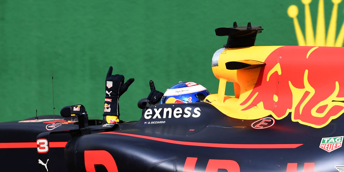Daniel Ricciardo - Formel 1 - GP Belgien 2016