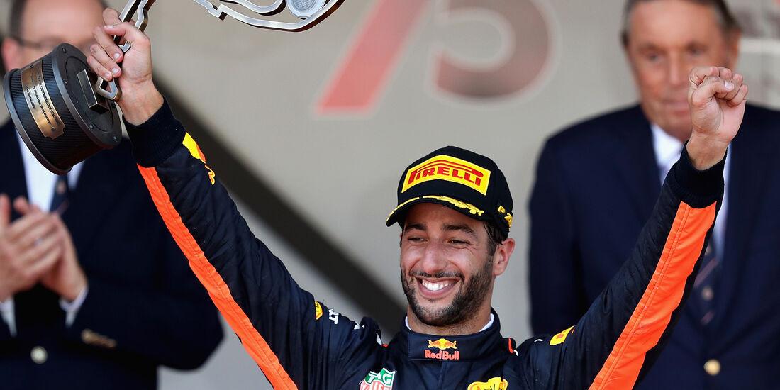 Daniel Ricciardo - Formel 1 - GP Monaco 2017
