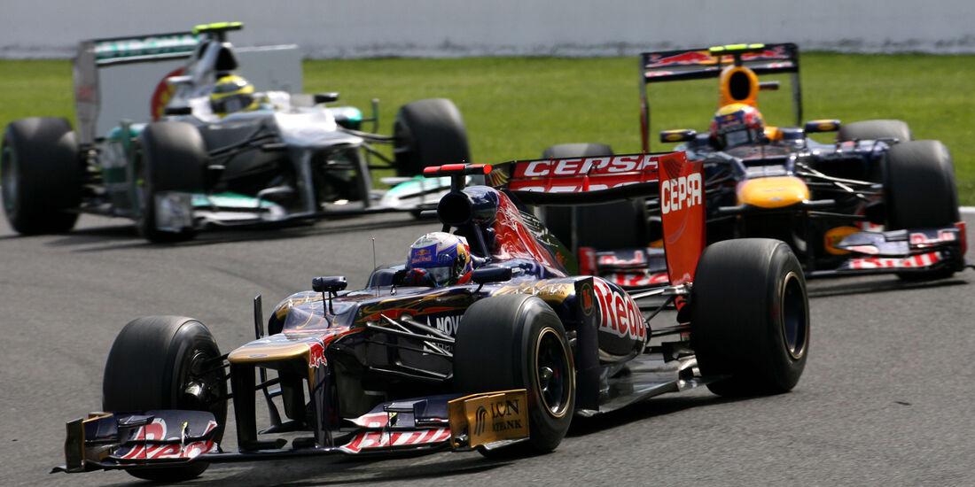 Daniel Ricciardo GP Belgien 2012