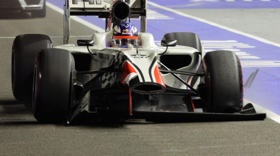 Daniel Ricciardo GP Singapur 2011