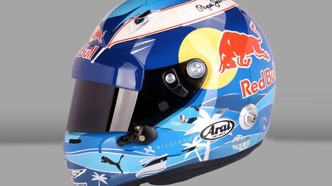 Daniel Ricciardo - Helm - GP Monaco 2016