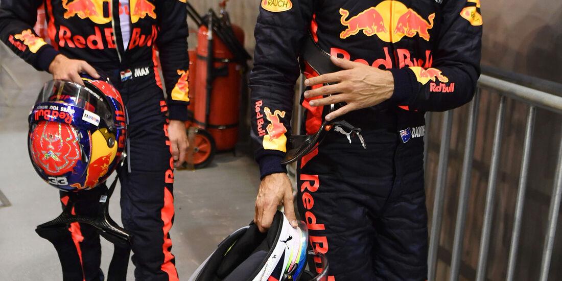 Daniel Ricciardo - Max Verstappen - Red Bull - GP Singapur - Qualifying