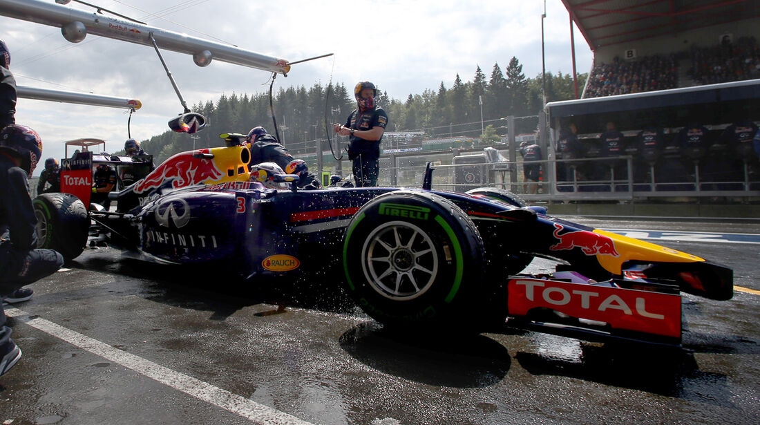 Daniel Ricciardo - Red Bul - Formel 1 - GP Belgien - Spa-Francorchamps - 23. November 2014