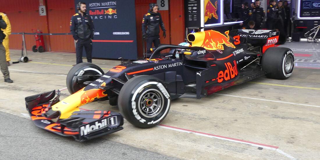 Daniel Ricciardo - Red Bull - Barcelona F1-Test 2018 - Tag 1