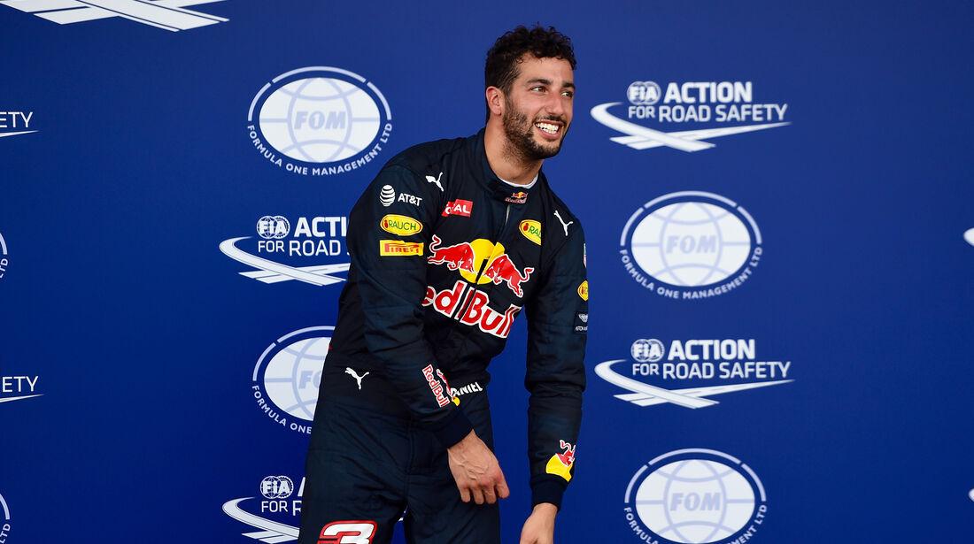 Daniel Ricciardo - Red Bull - Formel 1 - GP Aserbaidschan - Baku - 18. Juni 2016