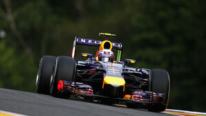 Daniel Ricciardo - Red Bull - Formel 1 - GP Belgien - Spa-Francorchamps - 22. August 2014