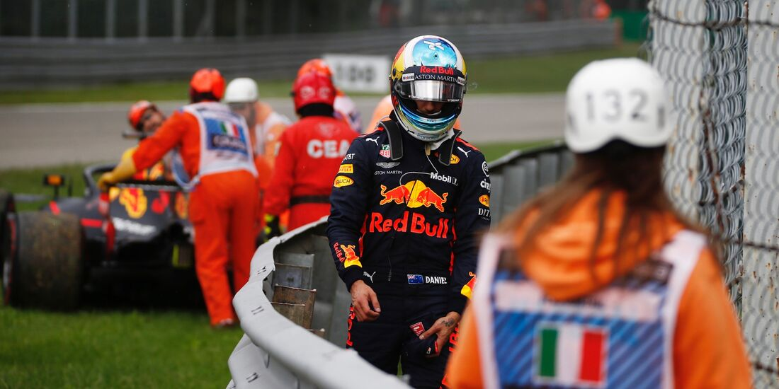 Daniel Ricciardo - Red Bull - Formel 1 - GP Italien - 02. September 2018