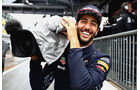 Daniel Ricciardo - Red Bull - Formel 1 - GP Italien - Monza - 2. September 2017