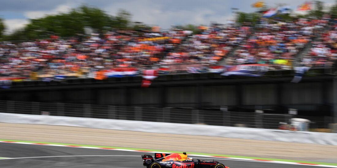 Daniel Ricciardo - Red Bull - Formel 1 - GP Spanien - 14. Mai 2017