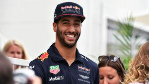 Daniel Ricciardo - Red Bull - GP Aserbaidschan 2017 - Baku - Donnerstag - 22.6.2017