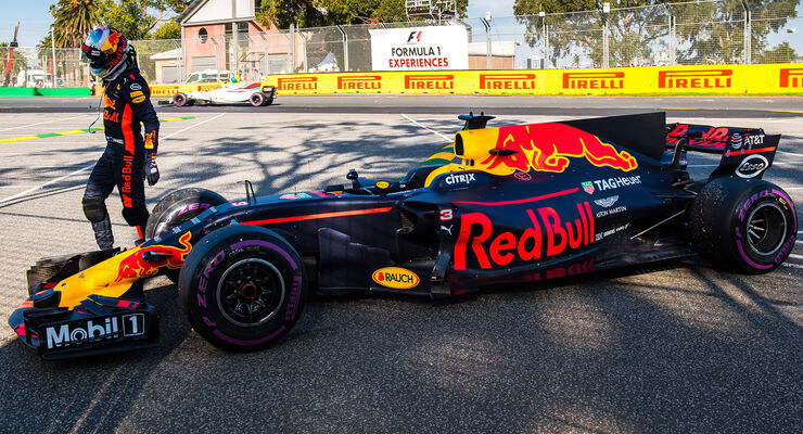 Daniel Ricciardo - Red Bull - GP Australien 2017