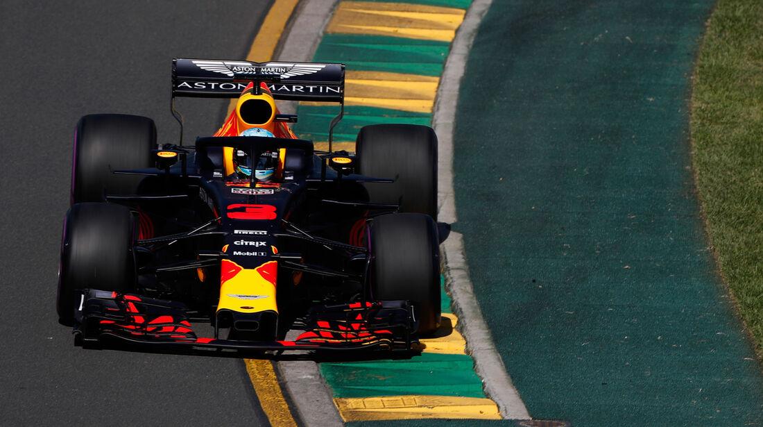 Daniel Ricciardo - Red Bull - GP Australien 2018 - Melbourne - Albert Park - Freitag - 23.3.2018