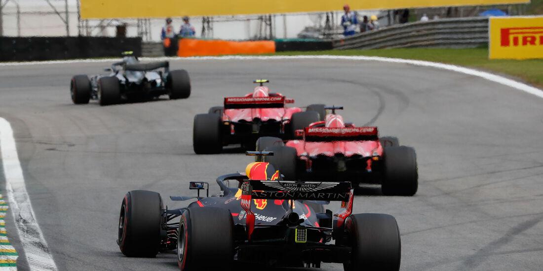 Daniel Ricciardo - Red Bull - GP Brasilien 2018 - Rennen