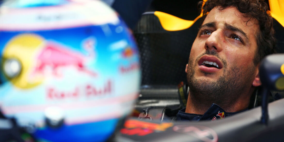 Daniel Ricciardo - Red Bull - GP Brasilien - Interlagos - Freitag - 11.11.2016