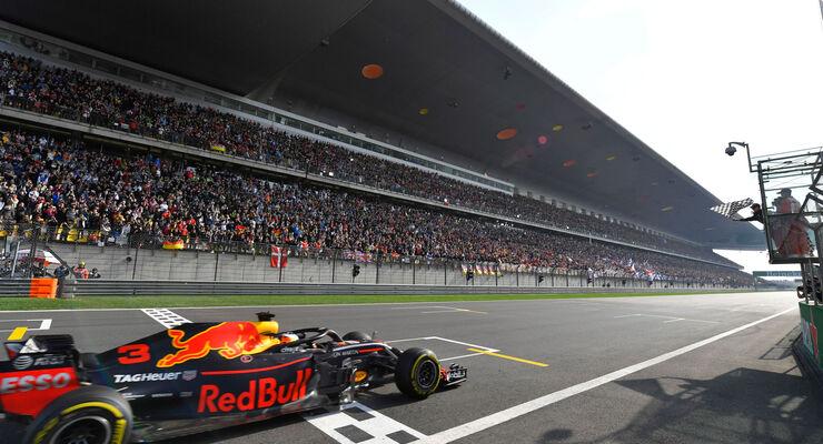 Daniel Ricciardo - Red Bull - GP China 2018