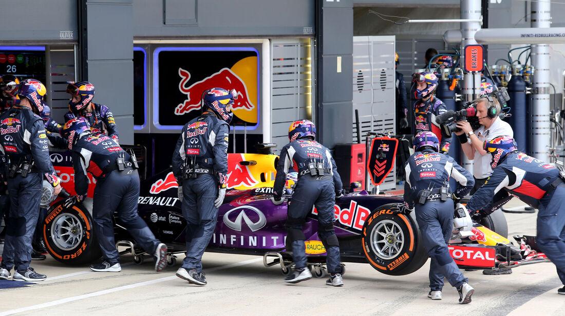 Daniel Ricciardo - Red Bull - GP England - Silverstone - Rennen - Sonntag - 5.7.2015