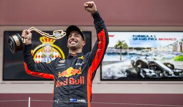 Daniel Ricciardo - Red Bull - GP Monaco 2018 - Rennen
