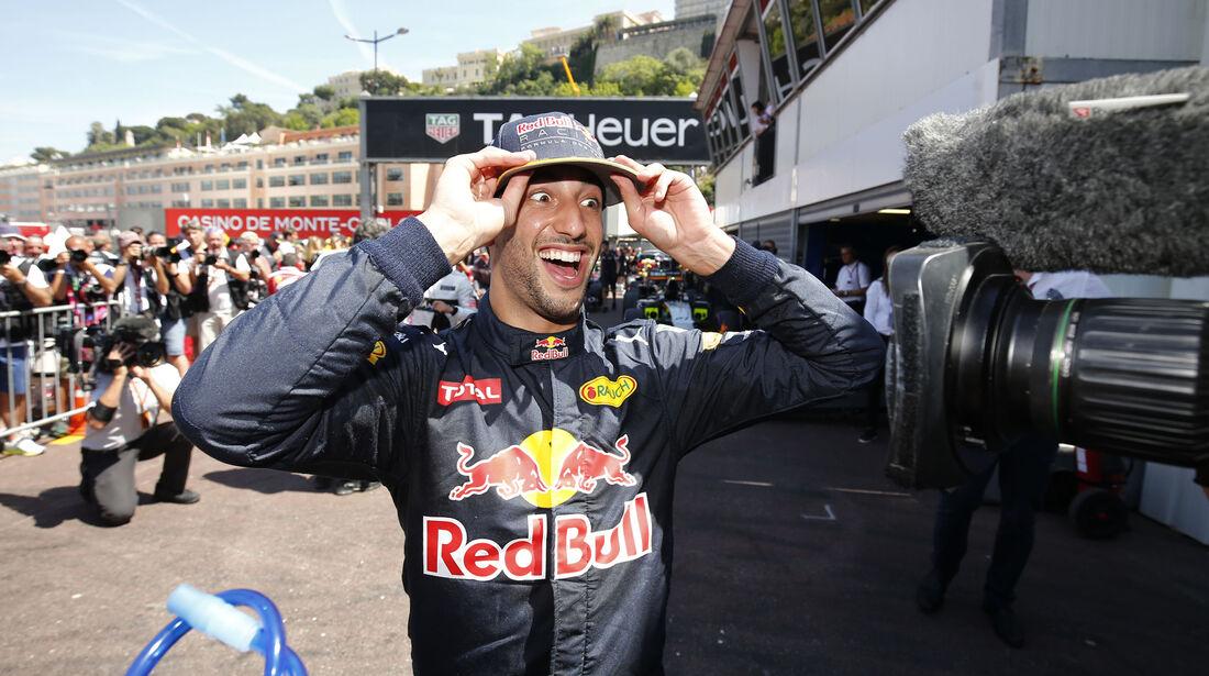 Daniel Ricciardo - Red Bull - GP Monaco - Formel 1 - 28. Mai 2016