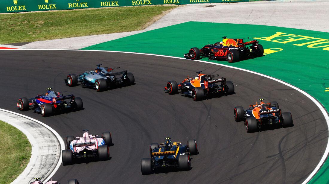 Daniel Ricciardo - Red Bull - GP Ungarn 2017 - Budapest - Rennen