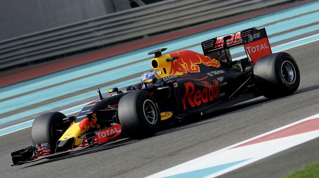 Daniel Ricciardo - Red Bull - Pirelli-Test - Abu Dhabi