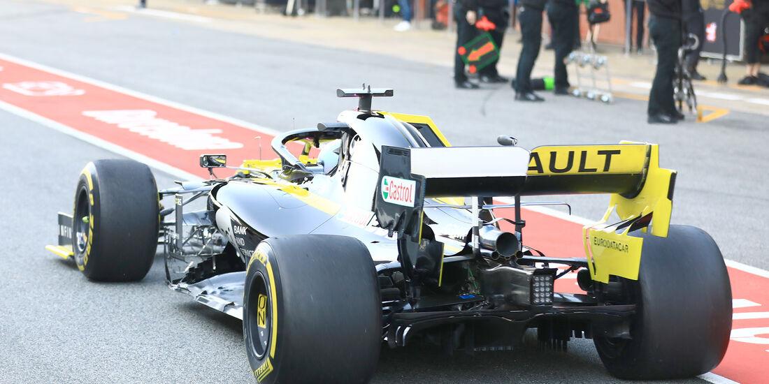 Daniel Ricciardo - Renault - Barcelona - F1-Test - 01. März 2019