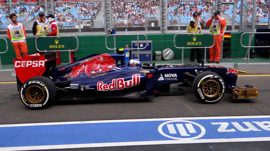 Daniel Ricciardo - Toro Rosso - Formel 1 - GP Australien - 15. März 2013