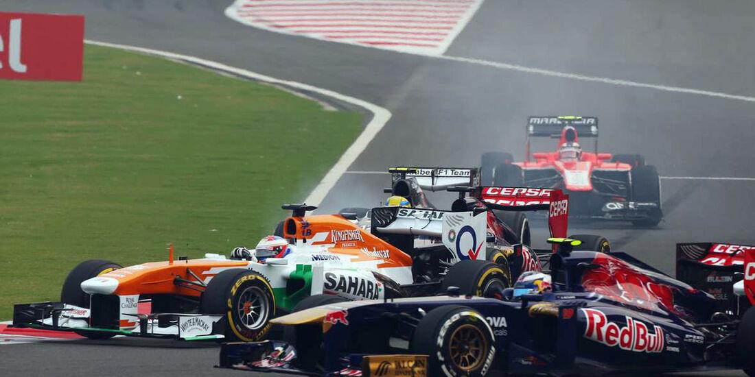 Daniel Ricciardo - Toro Rosso - Formel 1 - GP Indien - 27. Oktober 2013
