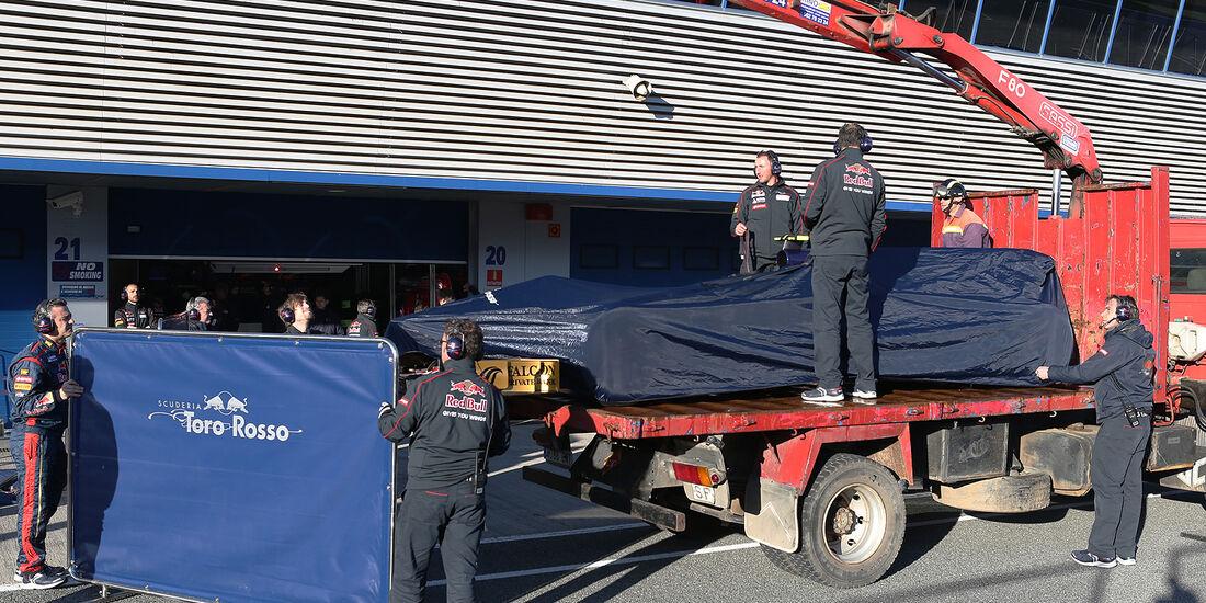 Daniel Ricciardo, Toro Rosso, Formel 1-Test, Jerez, 6.2.2013