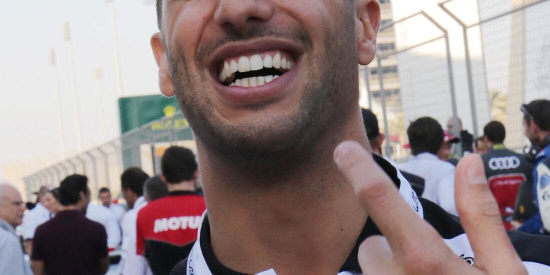 Daniel Ricciardo - WEC - Sportwagen-WM - Bahrain 2016