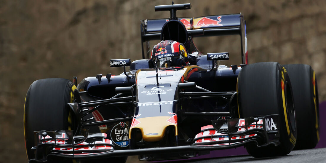 Daniil Kvat - Toro Rosso - Formel 1 - GP Aserbaidschan - Baku - 17. Juni 2016