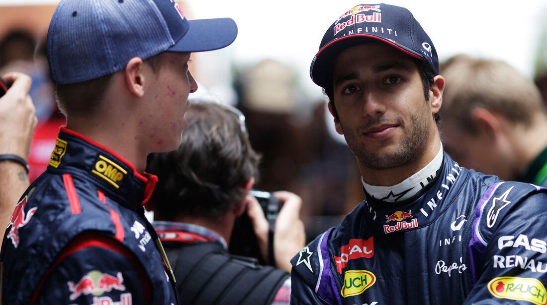 Daniil Kvyat & Daniel Ricciardo - 2014