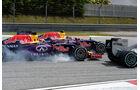 Daniil Kvyat - Daniel Ricciardo - Red Bull - GP Malaysia 2015 - Formel 1