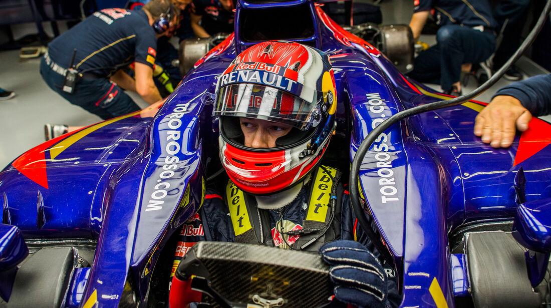 Daniil Kvyat - GP China 2014