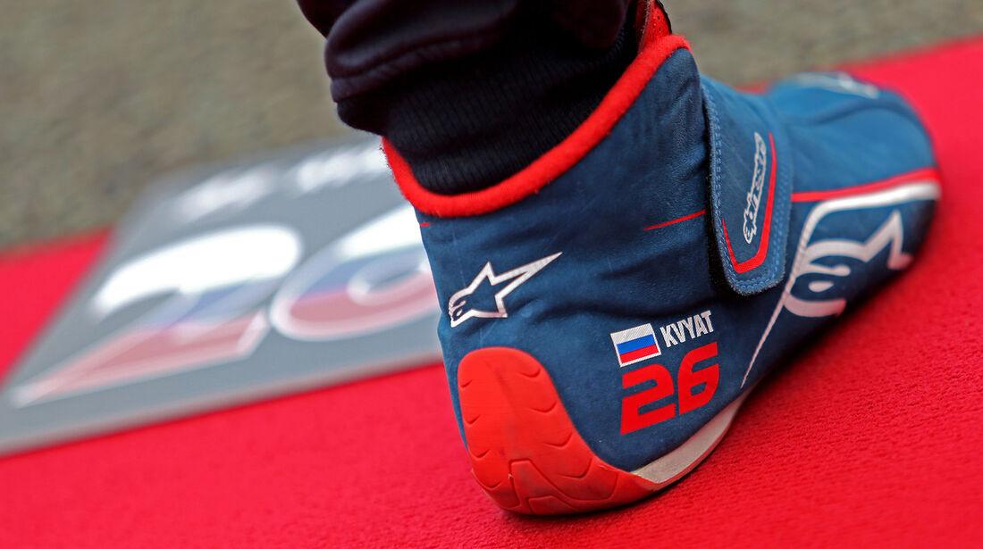 Daniil Kvyat - GP England 2017