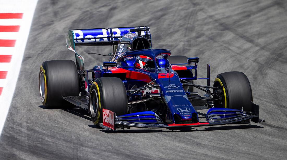 Daniil Kvyat - GP Spanien 2019