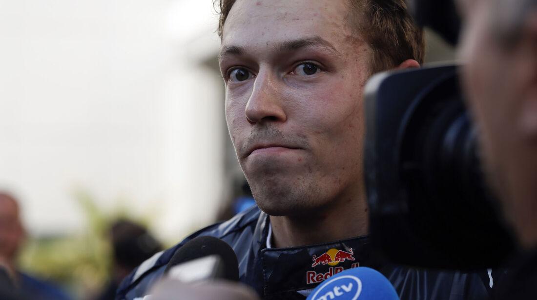 Daniil Kvyat - Red Bull - Formel 1 - GP Russland - 1. Mai 2016