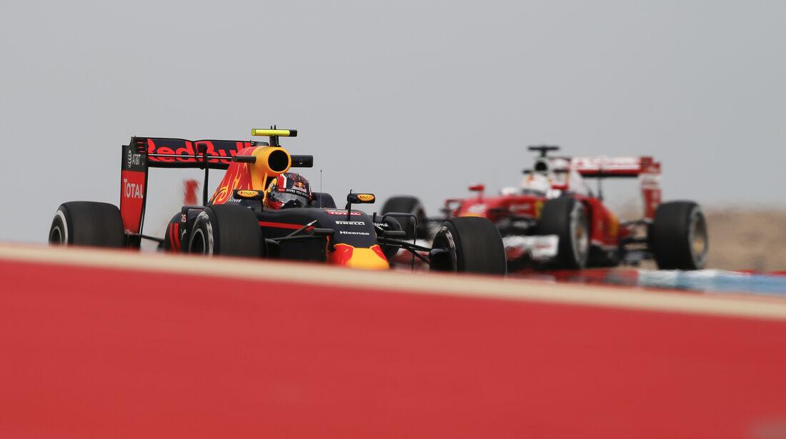 Daniil Kvyat - Red Bull - GP Bahrain - Formel 1 - 1. April 2016