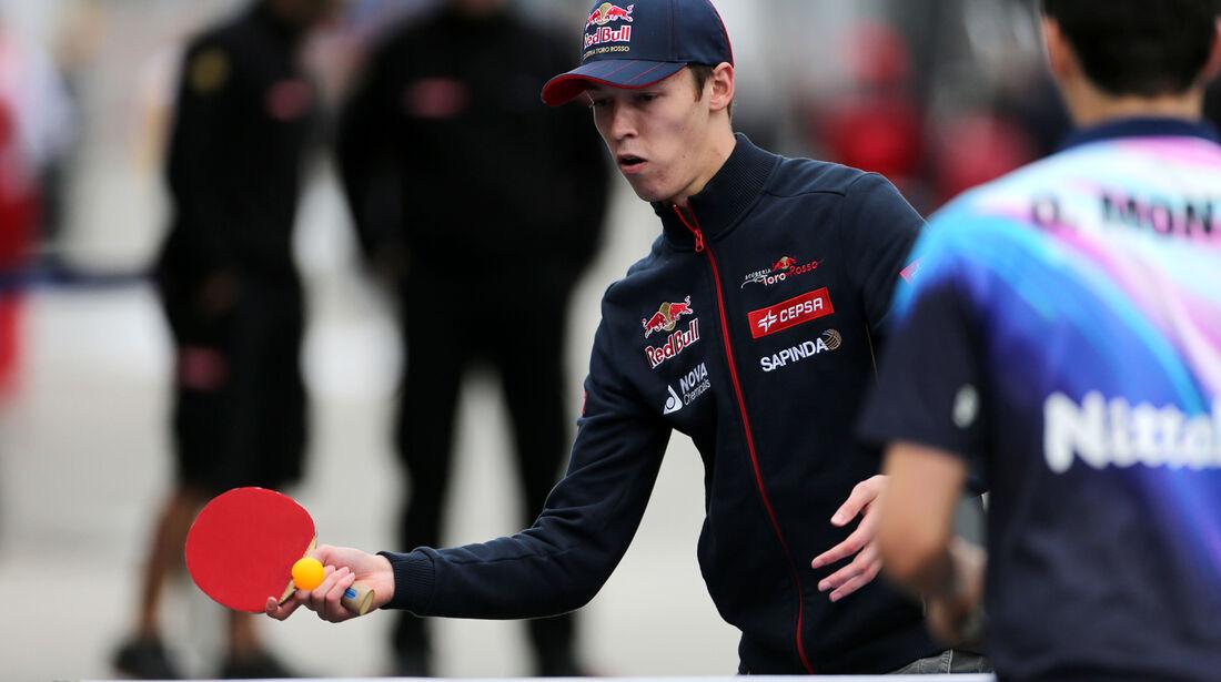 Daniil Kvyat - Toro Rosso - F1 Test Barcelona (1) - 13. Mai 2014