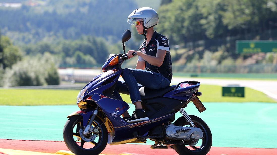 Daniil Kvyat - Toro Rosso - Formel 1 - GP Belgien - Spa-Francorchamps - 25. August 2016